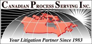 Process servers across Canada
